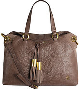 Oryany As Is Lamb Leather Satchel Bag - Kacie