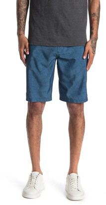 Rip Curl Boarder Stripe Print Boardwalk Shorts