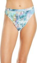 Becca Crystal Lace High Cut Bikini Bottoms