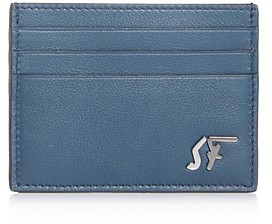Salvatore Ferragamo Signature Leather Card Case