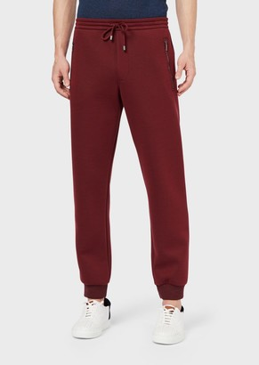 Giorgio Armani Jersey Joggers With Chinese New Year Embroidered Pocket