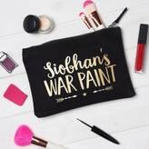 Owl & Otter Personalised War Paint Make Up Bag