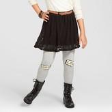 Xhilaration Girls' Crochet Skirt