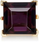 Kenneth Jay Lane WOMEN'S CRYSTAL-EMBELLISHED COCKTAIL RING