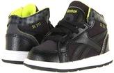 Reebok Kids - Versa SL211 Ultralite (Infant/Toddler) (Black/Gravel/Solar Green) - Footwear