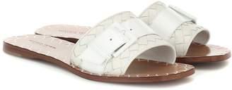 Bottega Veneta Ravello leather slides