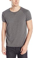 Scotch & Soda Men's Sportwear Inspired Tee with Mesh Details