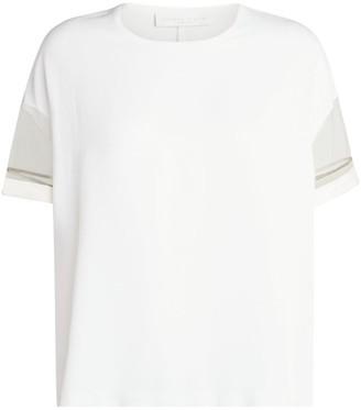Fabiana Filippi Sheer Sleeve T-Shirt