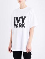 Ivy Park Logo-print cotton-jersey T-shirt