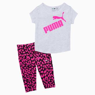 Puma Tee + Capri Leggings Toddler Set