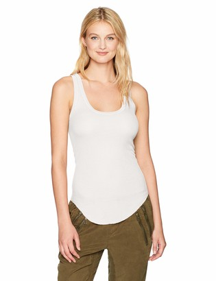 Enza Costa Women's Silk Rib Baseball Tank