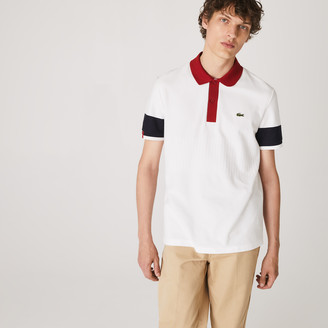 Lacoste Men's Made in France Regular Fit Organic Cotton Polo Shirt