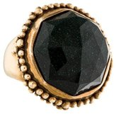 Stephen Dweck Green Sunstone Crystal Ring