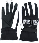 Fendi FF logo gloves