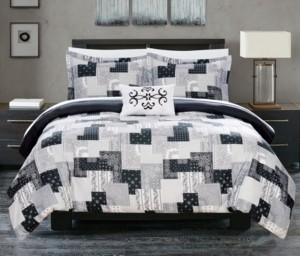 Chic Home Utopia 8 Piece Queen Bed In a Bag Duvet Set Bedding