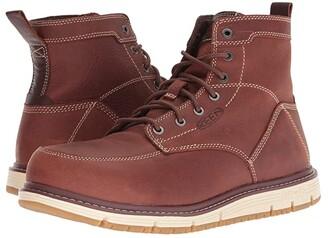 Keen San Jose Aluminum Toe (Black/Carmel Cafe) Men's Work Boots