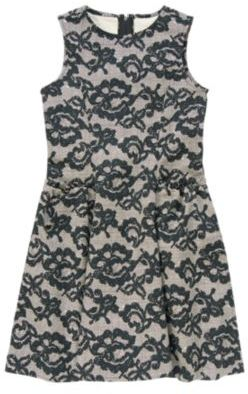 Crazy 8 Printed Lace Dress
