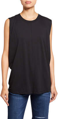 Current/Elliott The Pleated Back Muscle Tee