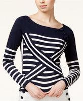 Tommy Hilfiger TOMMYXGIGI Striped Boat-Neck Sweater