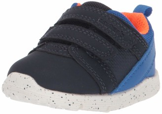 Carter's Every Step Boys' Relay Double Strap Athletic Sneaker First Walker Shoe