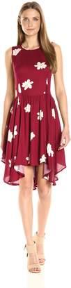 Olive + Oak Olive & Oak Women's Flowers Swing Dress
