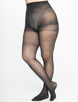 ELOQUII Plus Size Lattice Pattern Tights