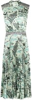 Saloni Fleure graphic print midi dress