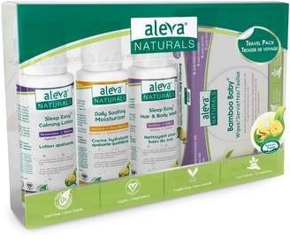 Aleva Naturals Baby's 4-Piece Travel Pack