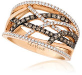 LeVian Le Vian Chocolatier Diamond Braided Wide Band- 0.79TCW