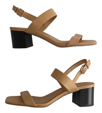 Everlane Camel Leather Sandals