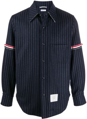 Thom Browne Snap-Front Shirt Jacket