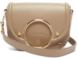 See by Chloe Mara Grained Leather Cross-body Bag - Womens - Grey