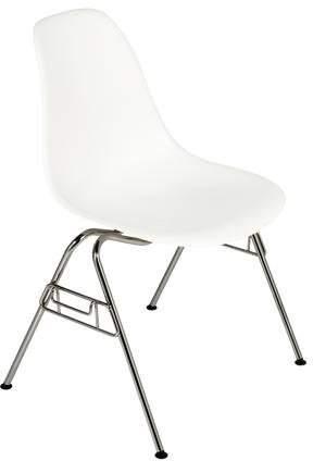 Herman Miller Eames Molded Plastic 4-Leg Side Chair