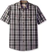Wrangler Men's Authentics Short Sleeve Canvas Shirt