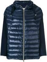 Herno hooded zip jacket