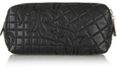 Versace Quilted leather cosmetics case