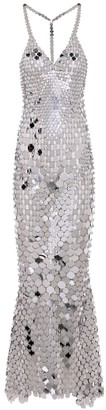 Paco Rabanne Sequined maxi dress