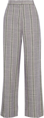 Acne Studios Cotton-blend Jacquard Straight-leg Pants