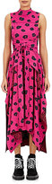 Proenza Schouler Women's Ikat-Inspired Crepe Wrap Dress