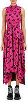 Proenza Schouler Women's Ikat-Inspired Crepe Wrap Dress