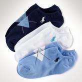 Argyle Ankle Sock Three-Pack