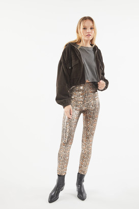 Urban Outfitters Soraya Sequin High-Waisted Skinny Pant