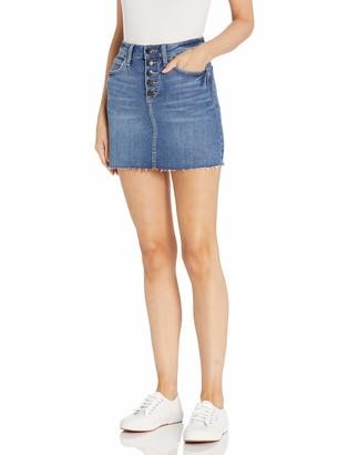 BCBGeneration Women's Denim Mini Skirt