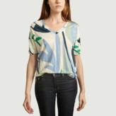 Majestic Filatures Vegetable Print T Shirt - s