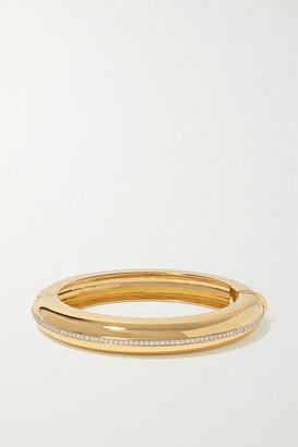 Fred Leighton Collection 18-karat Gold Diamond Bangle - one size