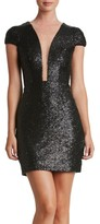 Dress the Population Women's Kylie Sequin Minidress