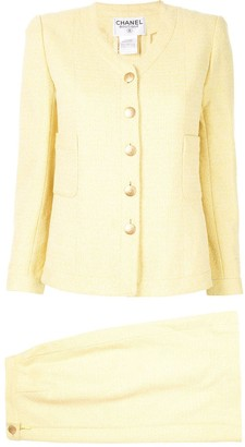 Chanel Pre-Owned 1998's Setup suit jacket skirt
