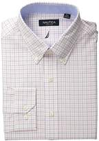 Nautica Men's Tattersall Plaid Shirt