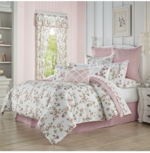 Royal Court Rosemary Rose Queen 4pc. Comforter Set Bedding
