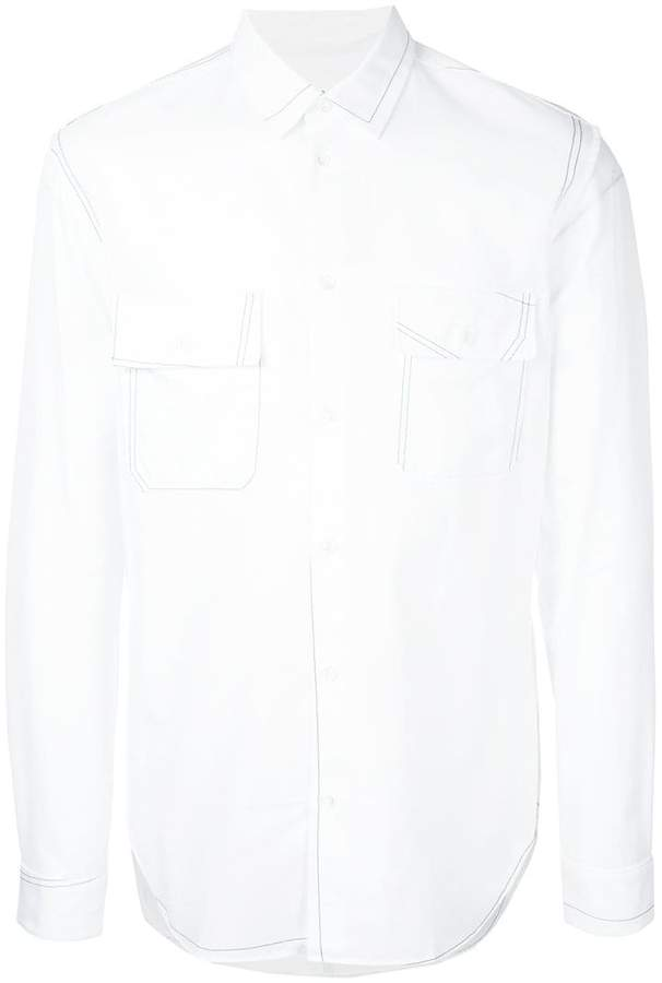 Maison Margiela formal fitted shirt